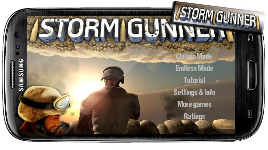 Storm Gunner HD: War Combat - screenshot