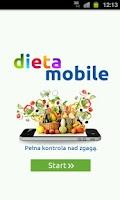 Screenshot of Dieta Mobile - tablet