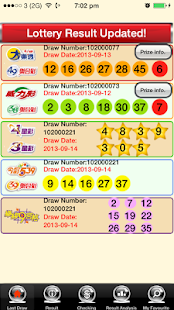 Taiwan Lotto, Lottery Free - screenshot thumbnail