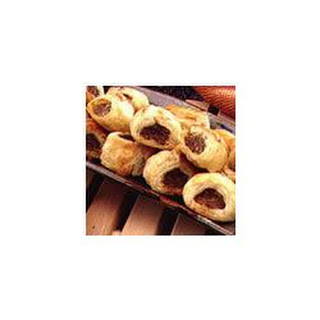 Sausage and Parmesan Puffs