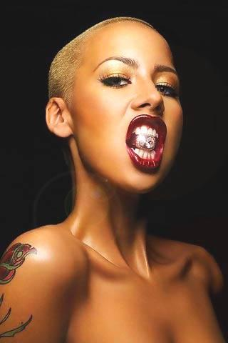 Amber Rose Live Wallpaper - screenshot