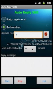 Auto Reply SMS - screenshot thumbnail