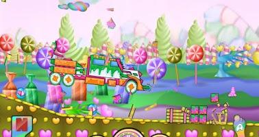 Screenshot of Candy Smasher Hill Racer