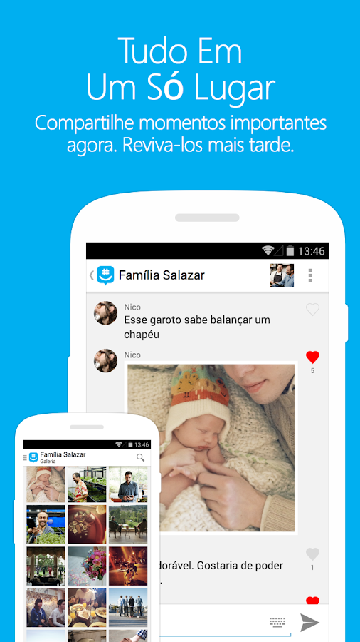GroupMe: captura de tela