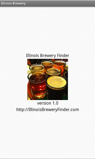 Illinois Brewery Finder Tablet