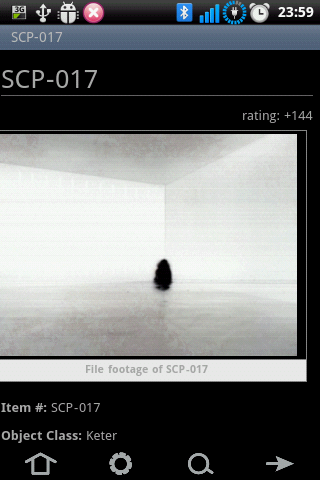 The SCP Foundation DB nn5n - screenshot