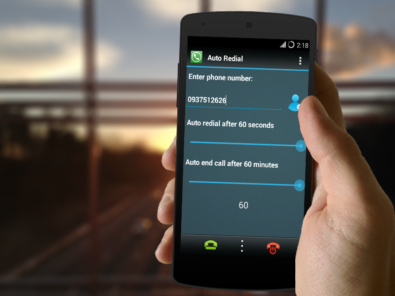 Auto Redial - Call Timer (Pro)- screenshot