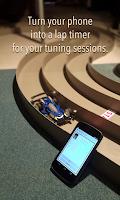 Screenshot of Mini4WD Lap Timer