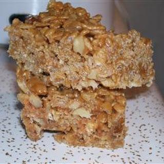 Peanut Cereal Squares.