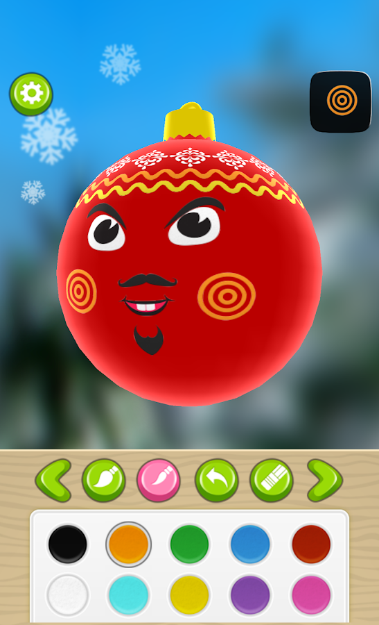 Christmas Tree Bauble Maker 3D - screenshot