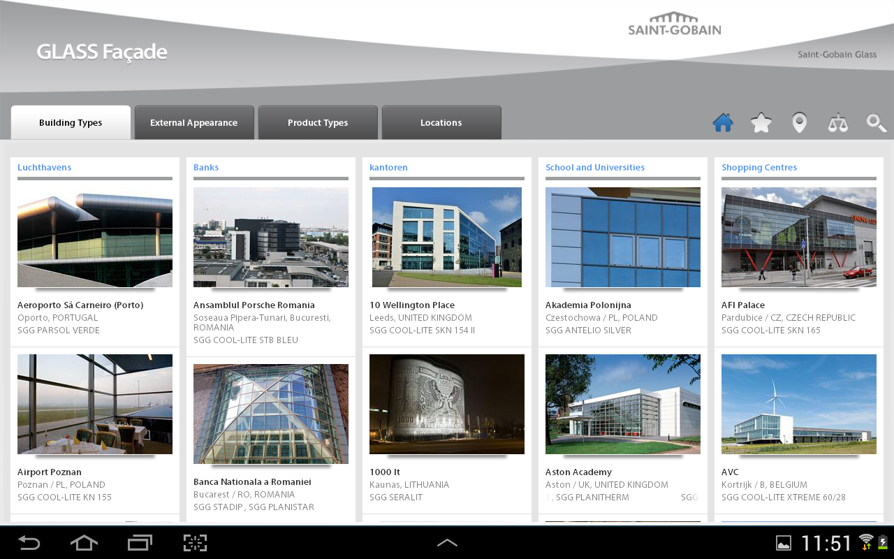 GLASS Facade- screenshot
