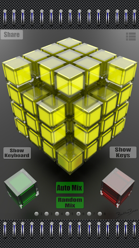 ButtonBass House Cube