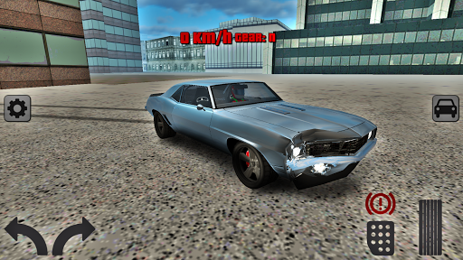 Extreme Muscle Car Driving