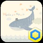 꿈꾸는 고래 카카오홈 테마 icon