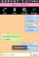 Screenshot of Secret Private SMS & Call