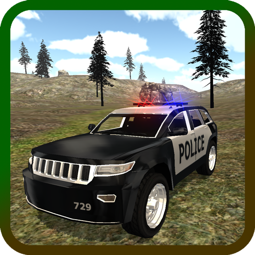 Mountain SUV Police Car LOGO-APP點子