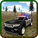 Mountain SUV Police Car icon