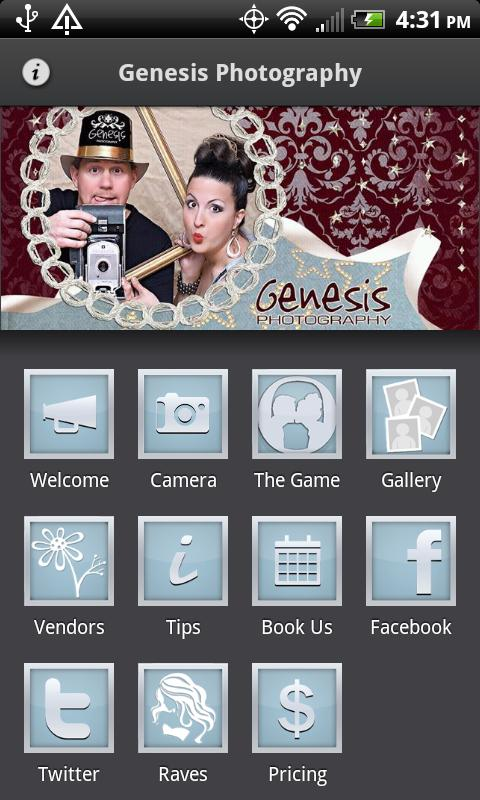 Genesis Photography - screenshot