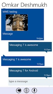 Messaging 7- screenshot thumbnail