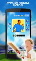 Screenshot of Guess The Cricket Star