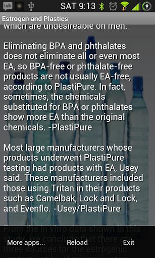 Estrogen And Plastics