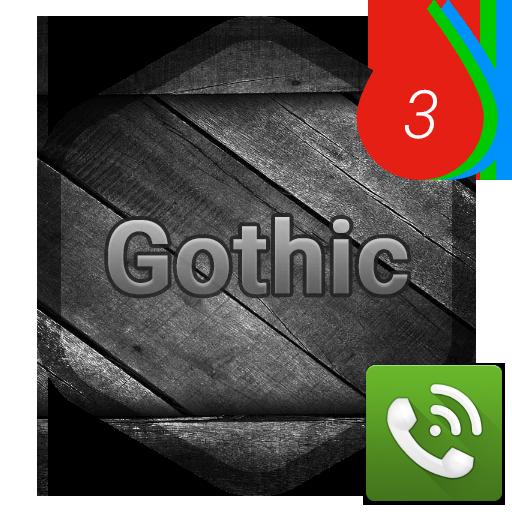 PP Theme – Gothic 個人化 App LOGO-APP試玩