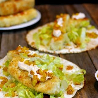 Wild Alaskan Halibut Fish Tacos