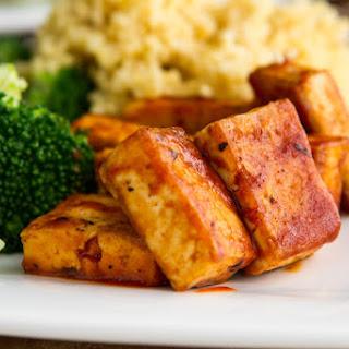 Easy BBQ Tofu.