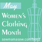 sy dameklær i mai :: sew women's clothng in May
