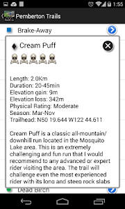 Pemberton Mountain Bike Guide screenshot 4