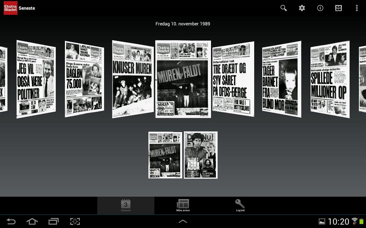 eBladet - screenshot