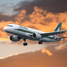 In volo by Giovanni Bartolomeo - Transportation Airplanes ( giobbyx )