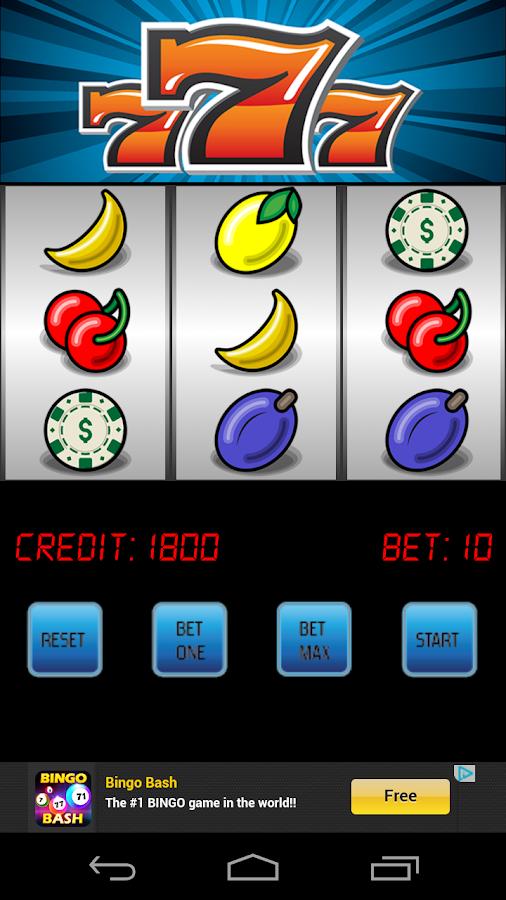 Free Slot Machine Lucky Seven - screenshot