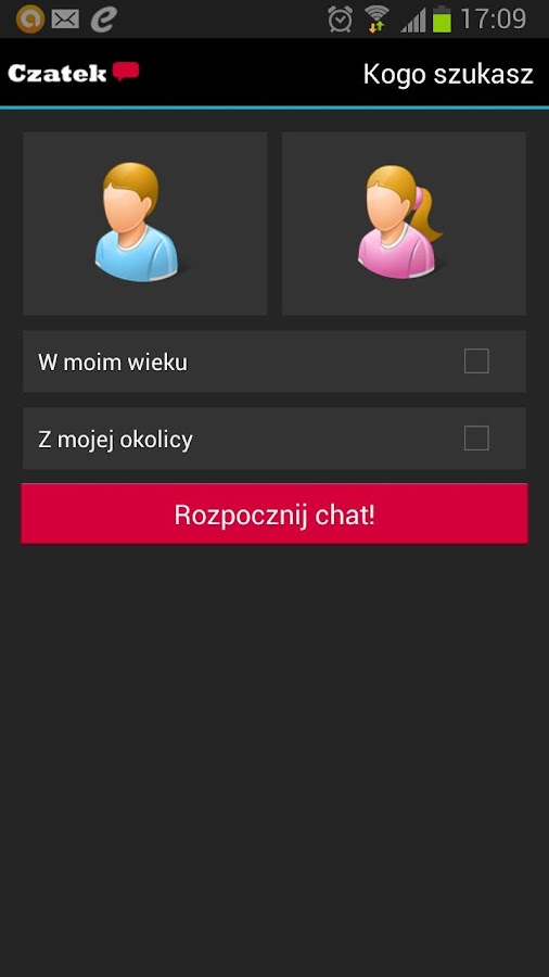 Czatek.pl - screenshot