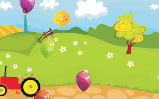 Screenshot of Farm Balloon Pop for Toddlers