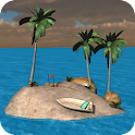 Island 3d live wallpaper icon