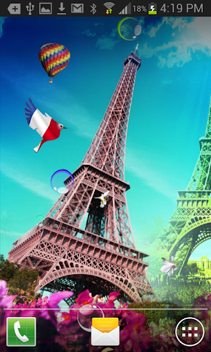 Eiffel Tower HQ Live Wallpaper