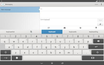 Xperia Keyboard Screenshot 8