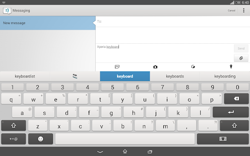 Xperia Keyboard Screenshot 4