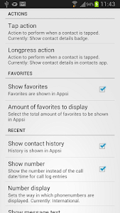 Appsi Contacts plugin screenshot 2
