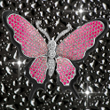Diamond Pink Butterflies icon