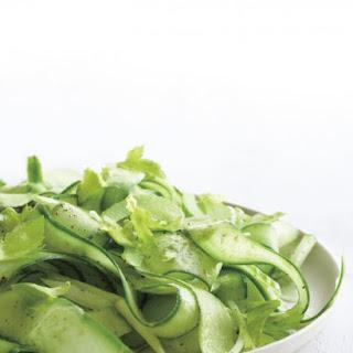 Shaved Cucumber Salad