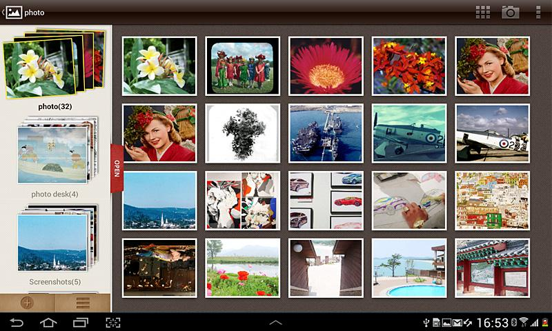 Photo Desk (Photo Gallery) - screenshot