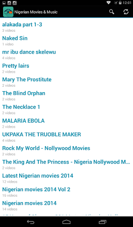 Nigerian Movies & Music 2014 2 screenshot 1712954
