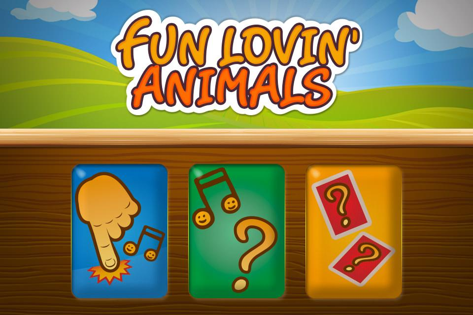 Animals' game for kids- screenshot