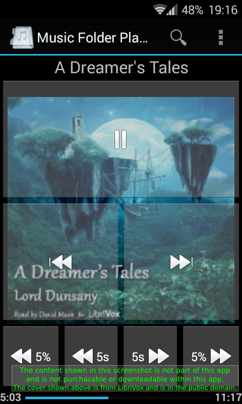 Music Folder Player Free - screenshot