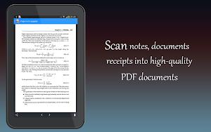 6 Fast Scanner : Free PDF Scan App screenshot