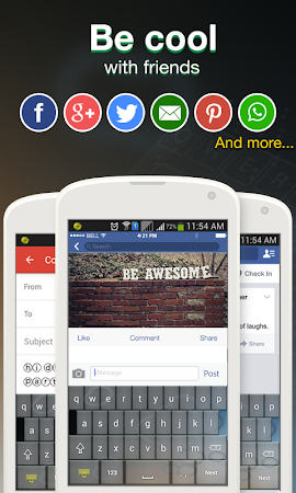 Cool Fonts for Whatsapp & SMS 2.0 screenshot 227827