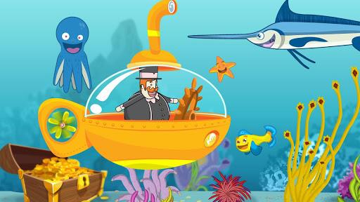 玩免費教育APP|下載Bita e os Animais-Fundo do mar app不用錢|硬是要APP