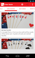 Screenshot of Poker Hands